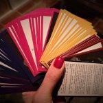 75 Karten mit 100 Fragen im personal Brand Kartenset