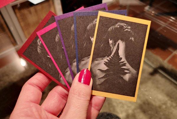 5 Themenbereiche des Personal Brand Kartensets