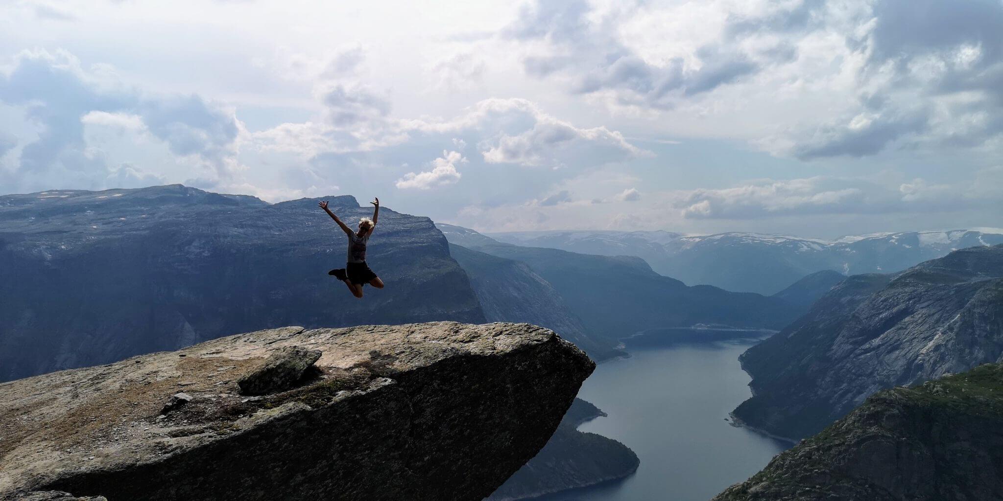 Mental Monday: Was brauchst du, um zu springen?