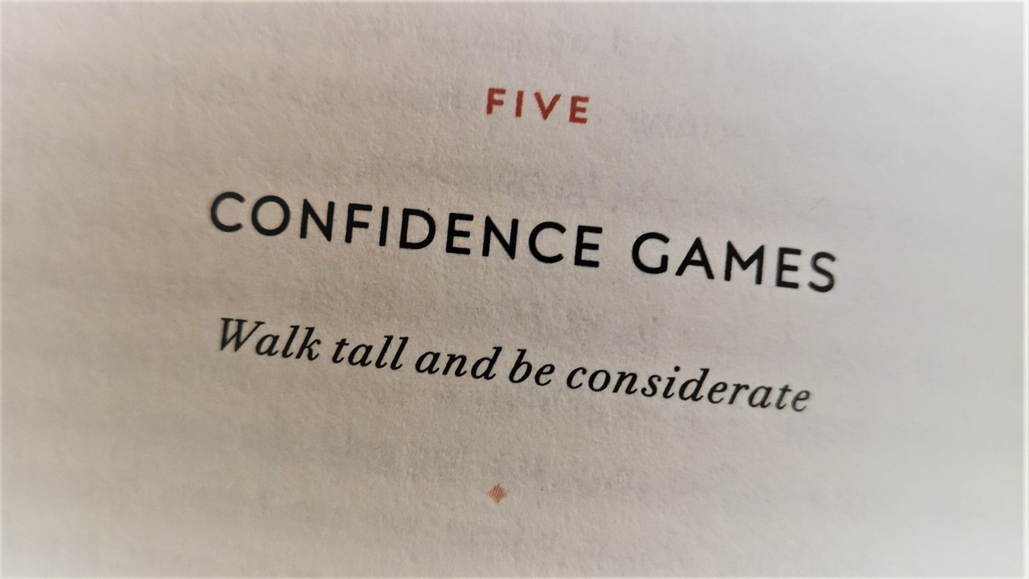 Workout Wednesday: Confidence Games