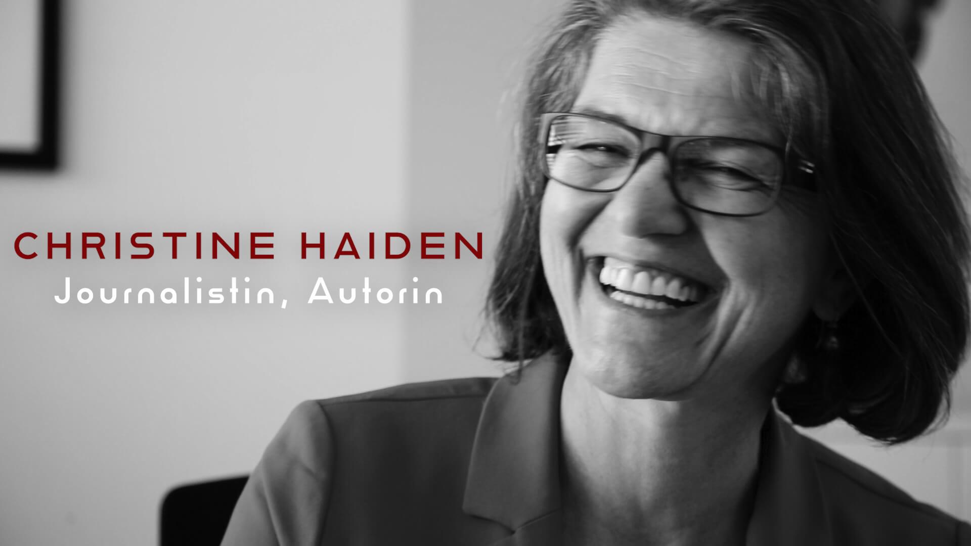 Gnadengaben #7: Christine Haiden über ein erfülltes Leben